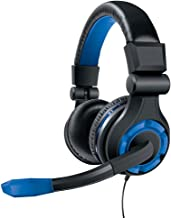 Fone de Ouvido Headset GRX-340 Dreamgear DGPS4-6427 Preto e Azul