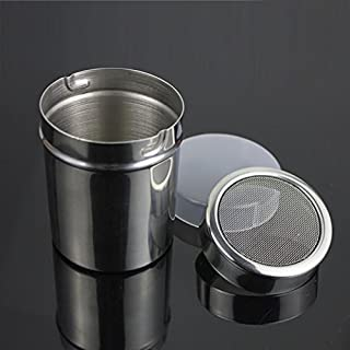 Zehui Stainless Steel Fine Mesh Shaker Icing Sugar Powder Matcha Cocoa Flour Sifter Cooking Tools with Lid