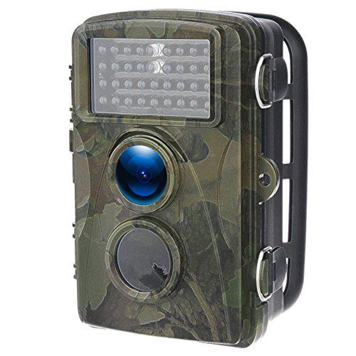 didseth Wild fotocamera foto Trappola 16MP 1080p Full HD Caccia fotocamera 120° grandangolare Vision INFR Lanzarote 20m visione notturna impermeabile IP66telecamera di sorveglianza
