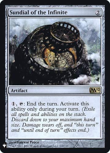 Magic: The Gathering - Sundial of The Infinite - Foil - Mystery Booster - Magic 2012