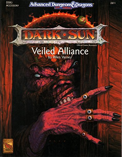 Veiled Alliance (DSR3, ADVANCED DUNGEONS & DRAGONS, 2ND EDITION, 2411)