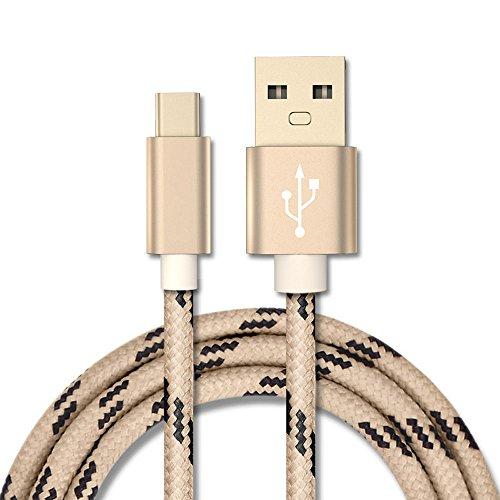 YANSHG USB 3.1 Typ C Kabel, Reversible USB C Nylon geflochtenes Kabel für Samsung Galaxy S8, Nexus 6P 5X, Google Pixel, LG G5 V20,