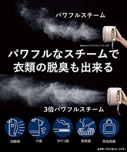 パナソニック『衣類スチーマー(NI-FS750)』