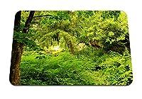 26cmx21cm マウスパッド (庭の木自然緑) パターンカスタムの マウスパッド
