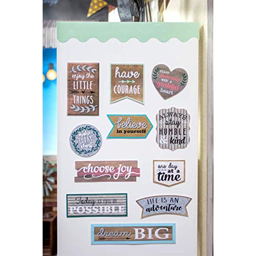Teacher Created Resources Home Sweet Classroom Positive Sayings Clingy Thingies Accents (TCR77875) Photo #2