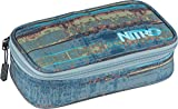 Nitro Snowboards Pencil Case XL, Estuche 21 cm, Frequency Blue