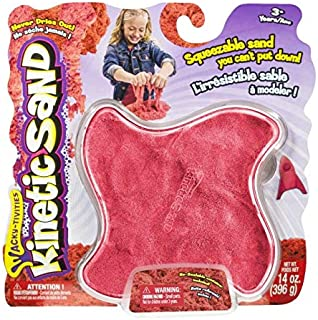 Kinetic Sand Bright N' Bold Red (14oz)- red