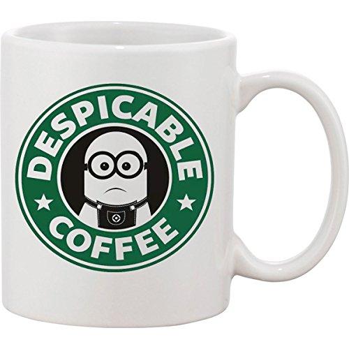 Kaffeebecher Ich - Einfach Unverbesserlich Minion Starbucks, lustige Kaffeetasse