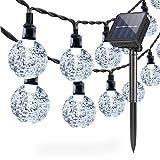 Lámparas solares de cadena Exterior Jardín, 6,5 m 30 LED...