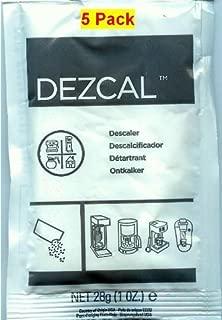 Urnex Dezcal 28g (1 oz.), 5 Pack