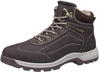 Men's Snow Boots Waterproof High Rise Hiking Boots Lightweight Trekking Walking Shoes Goosun Anti-Slip Warm Ankle Boots Fu...