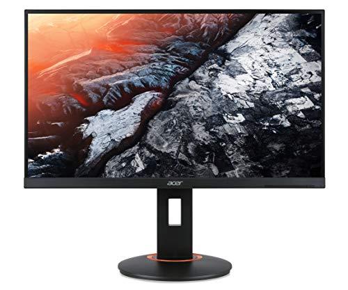 Acer XF250QC Gaming Monitor 24,5 Zoll (62 cm Bildschirm) Full HD, 240HZ(DP, HDMI 2.0), 120Hz(HDMI 1.4), 1ms (G2G), HDMI 1.4, HDMI 2.0, DP 1.2, höhenverstellbar, drehbar, GSync Compatible/Adaptive Sync