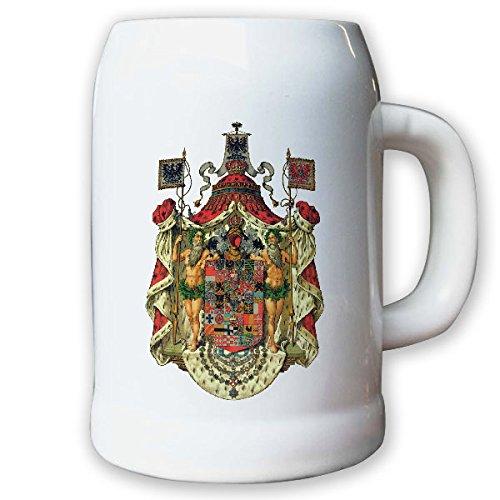 Krug/Bierkrug 0,5l - Königreich Preußen Monarchie Herzog Adel Weimarer #9447