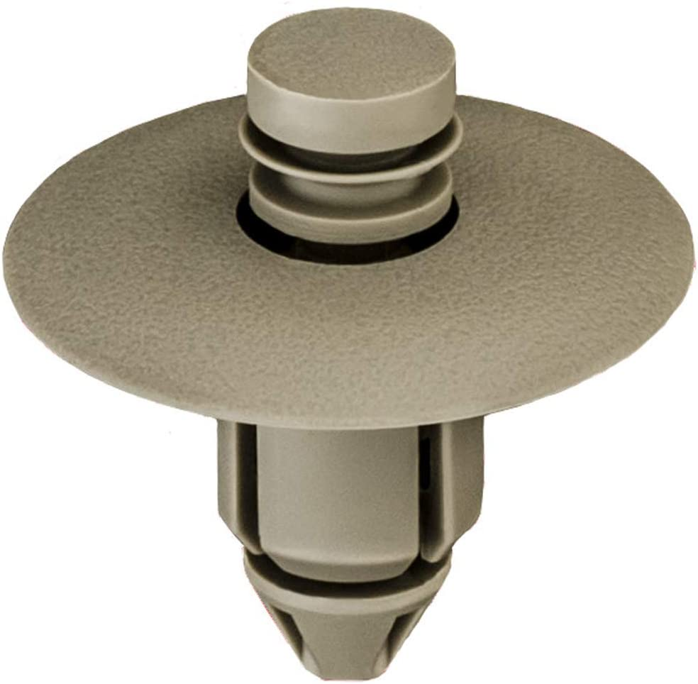 Clipsandfasteners Inc Super sale period limited 25 Door Large special price Trim Tan compatible Clips Grayish