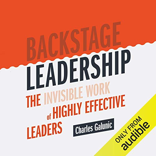Backstage Leadership  By  cover art