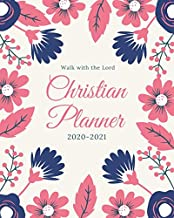 2020-2021 Christian Planner: Weekly and Monthly Planner with Inspirational Bible Quotes, July 2020 to December 2021, Calendar views, Schedule ... with Gorgeous Floral Cover, Large Size