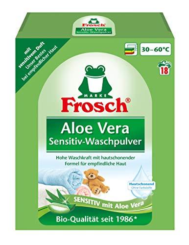 Frosch Aloe Vera Waschpulver Color, 5er Pack (5 x 18 Waschladungen)