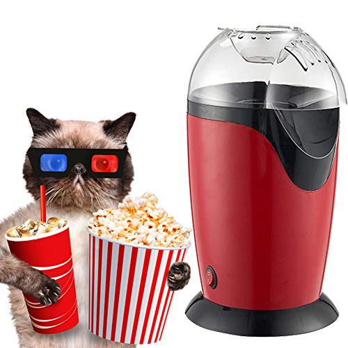 Buy Bargain ZRXRY Popcorn Maker 1200 W Popcorn Popper, Electric Popcorn Maker with Measuring Cup and...