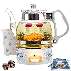 Blooming tea gift set for mom on Mother's day