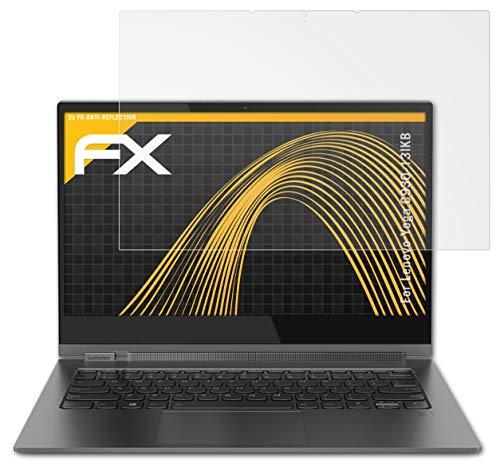atFolix Panzerfolie kompatibel mit Lenovo Yoga C930-13IKB Schutzfolie, entspiegelnde & stoßdämpfende FX Folie (2X)