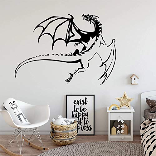 Flying Dragon Family Wall Sticker Art Home Decoration Natural Decoration
