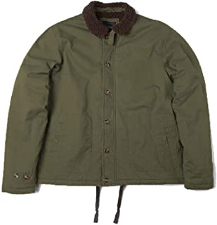 NOBRAND Deck Jacket Work Vintage us navyarmy Military Cotton Tactical Warm Thick Clothes for Men Winter