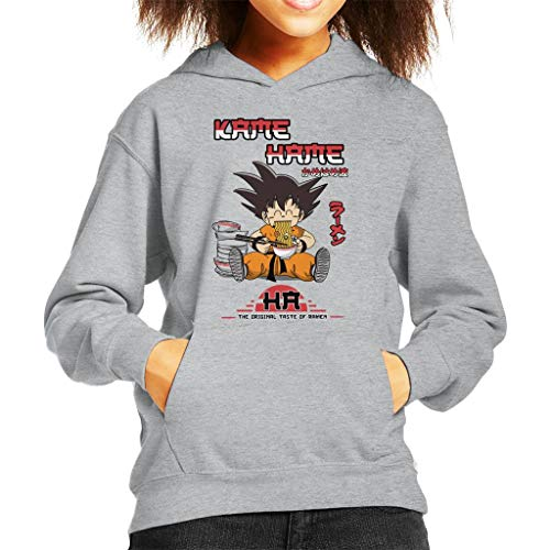 Cloud City 7 Kame Hame Ramen Shop Dragon Ball Z Kid's Hooded Sweatshirt