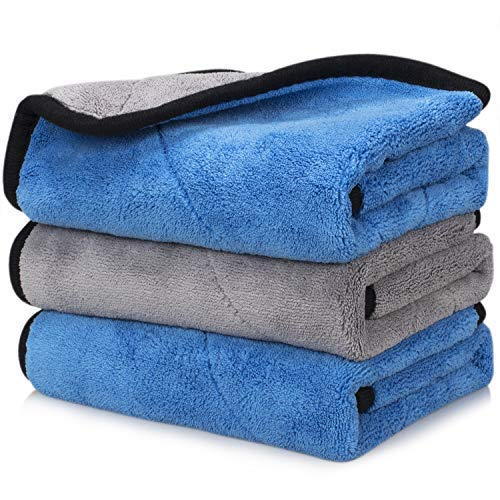 (50% OFF Deal) Microfiber Car Cleaning Drying Towels 3pk $9.79