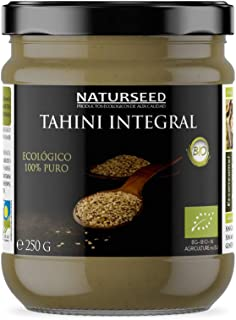 Naturseed Tahini Pasta de Sésamo Ecologico, Bio - Raw,
