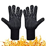 Coideal BBQ Grilling Gloves, 1472°F/ 800 °C Extreme Heat Resistant Grill Glove