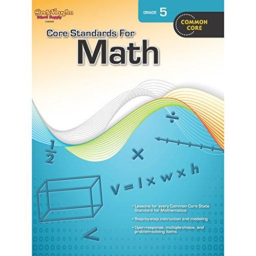 Download Core Standards for Math Grade 5: Common Core 0547878249