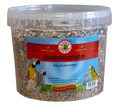 Rosenlöcher Großsittichfutter 3kg/5L