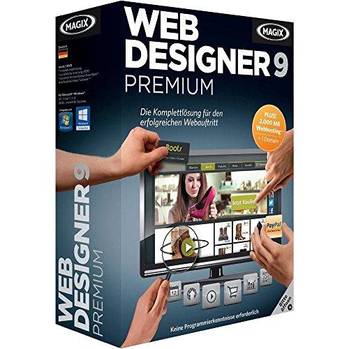 MAGIX ESD/ Web Designer 9 Premium / DE / Online Downloa