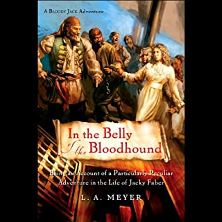 In the Belly of the Bloodhound audiobook cover art
