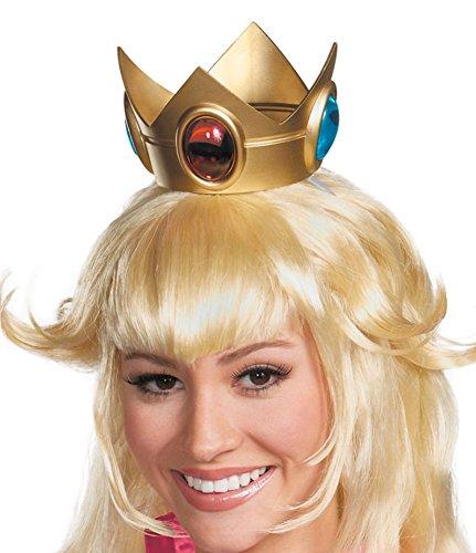 MyPartyShirt Princess Peach Super Mario Crown