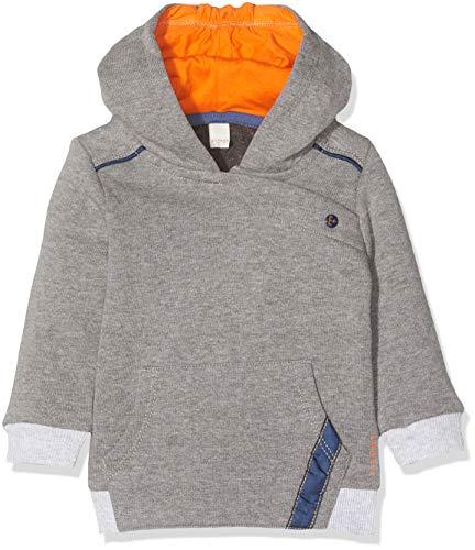 ESPRIT KIDS Baby-Jungen RP1503209 Sweatshirt, Grau (Dark Heather Grey 201), (Herstellergröße: 80)
