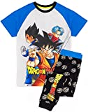 Dragón Ball Z Super Pijamas Boys Goku Anime Black T-Shirt Pantalones PJS 7-8 años