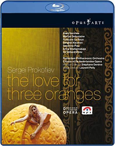 l amour des Trois Orange [Blu-Ray]