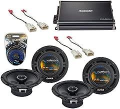 Compatible with Toyota Tundra 2003-2014 Factory Speaker Upgrade Harmony (2) R65 & CXA300.4 Amp (Renewed)