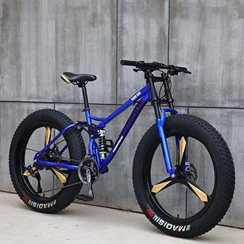 GASLIKE Bicicleta de montaña para Hombres y Mujeres, Cuadro de Acero de...