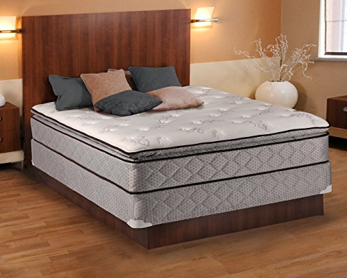 Why Should You Buy Dream Sleep Madison Gentle Plush Eurotop Mattress and Box Spring Set - Innersprin...