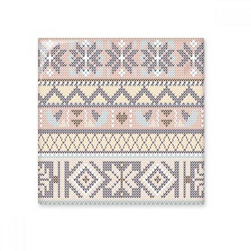 Morado rosa y beige Rhombus octogonal nórdicos de punto triángulo patrón de ilustración de cerámica crema decoración de decoración de azulejos para baño cocina azulejos de pared azulejos de cerámica