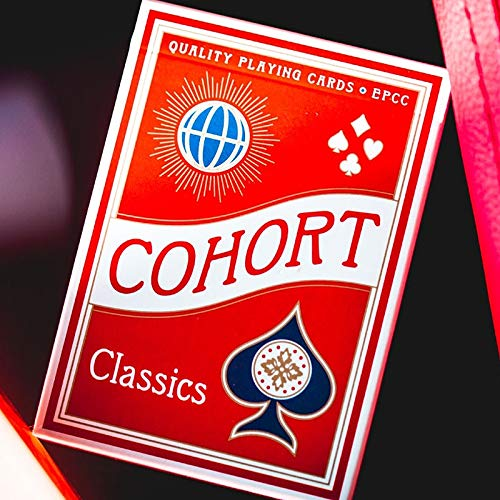 Mazzo di carte Cohorts Red Playing Cards