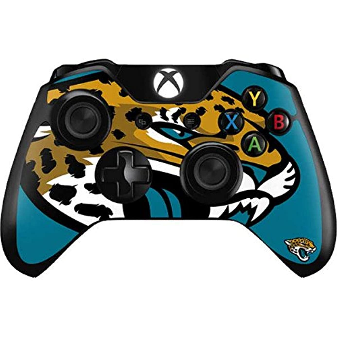 Skinit Jacksonville Jaguars Large Logo Xbox One Controller Skin - Officially Licensed NFL Gaming Decal - Ultra Thin, Lightweight Vinyl Decal Protection