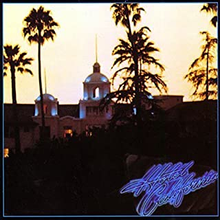 ALBUM COVER POSTER EAGLES: HOTEL CALIFORNIA 12x18 inch rolled ultimate poster