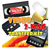 VHS and Camcorder Video Capture Kit for Mac. Compatible with Big Sur and Catalina on Intel and M1 Macs. Includes USB Adapter, RCA Leads and Scart Plug