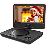 WONNIE 2019 Upgrade 11.5' Lecteur DVD Portable avec écran Rotatif de 9,5' à 270°,...