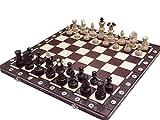 ajedrez Embajador Lux, de edición Limitada, de Madera Maciza, Juego