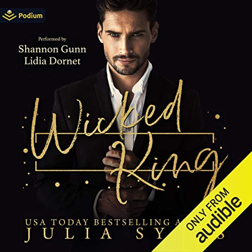 Wicked King Audiobook By Julia Sykes cover art