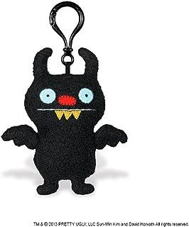 "GUND Uglydoll Clip-On Ninja Batty Shogun, 5.1"" Plush"